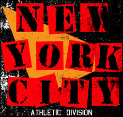 New York City Texture T shirt Graphic Design