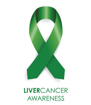 liver awareness cancer ribbon