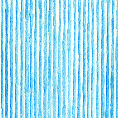 Vertical Lines watercolor pattern. Repeat straight stripes textu