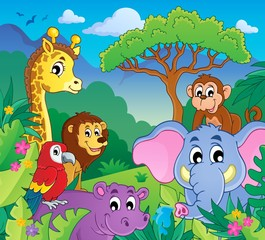 Image with jungle theme 9