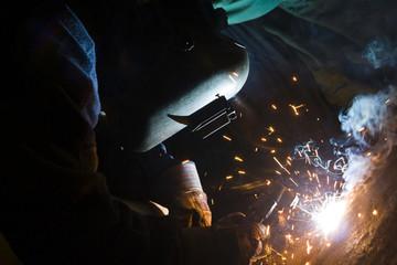 Welding, welder