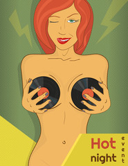 Hot party poster
