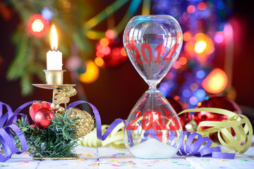 transition to the new year 2015