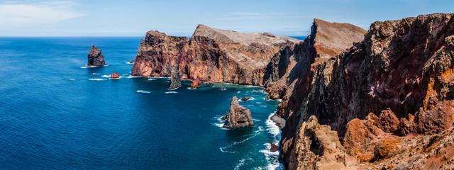 Impressive panorama East coast of Madeira Fototapete