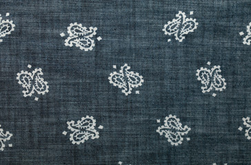 Background denim texture with pattern