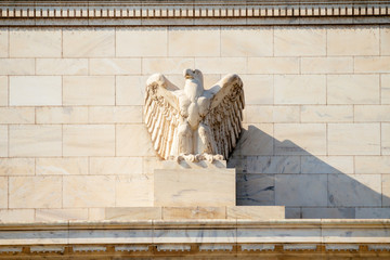 Federal Reserve Building, Washington DC, USA. Wall mural