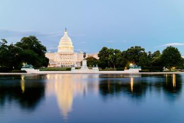 The United Statues Capitol Building, Washington DC, USA.