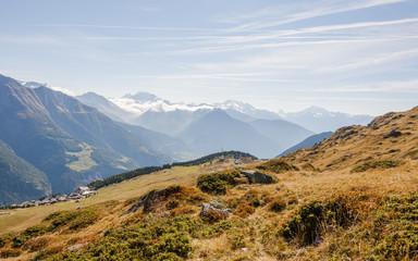 Bettmeralp, Bergdorf, Simplonpass, Walliser Alpen, Schweiz