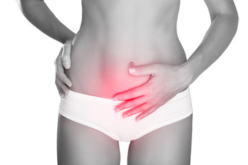 Women with stomach problems