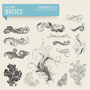 vector basics: swirls and flourishes