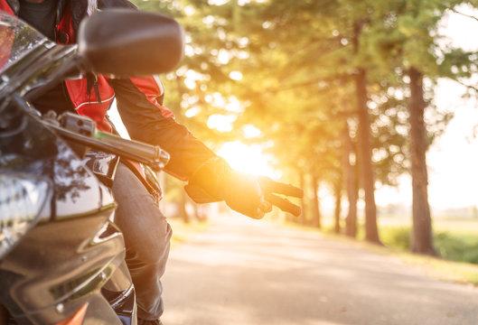 motorbike greeting