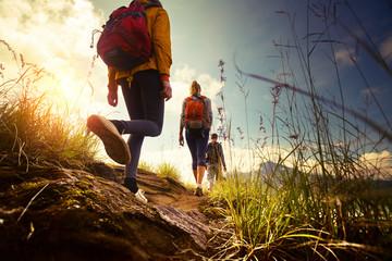 Hikers Fotobehang