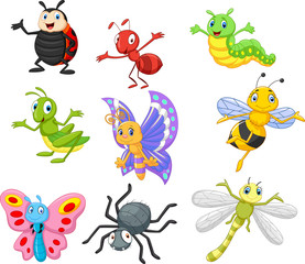 Cartoon insect