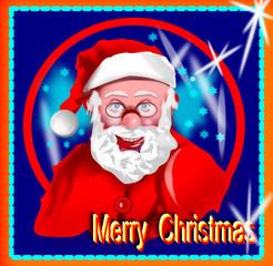Babbo Natale con occhiali-01