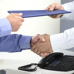 Business Vertragsabschluss