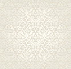 Bright luxury vintage wedding seamless wallpaper  background