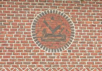 Schreiner Symbol Wappen  Fassade