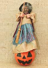Halloween Witche & Jack Lantern Pumpkin/Halloween trick or treat