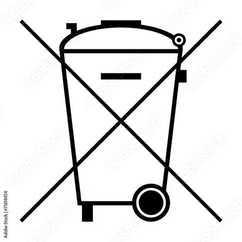 symbol batterie entsorgung I\