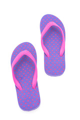 Flip flop isolated on white background