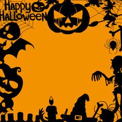 Vector banner. Halloween.