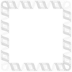 FRAME MOVIE FILM STRIP LINE