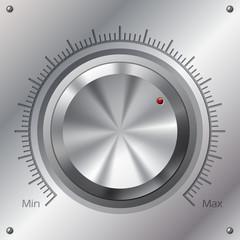 Volume knob with min max levels