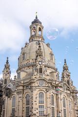 Soap Bubbles at Dresden Frauenkirche