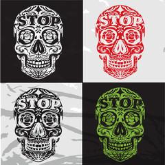 Colors Skulls