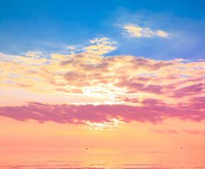 Panorama Sun Rising