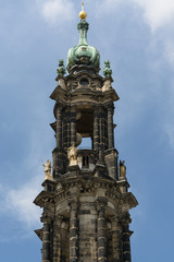 Dresden castle tower