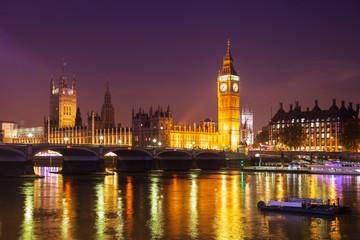 Photo sur Plexiglas Londres London at Night