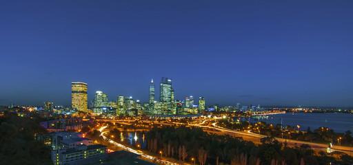 Night View of Perth Skyline