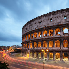 Foto op Canvas Rome Colosseum in Rome - Italy