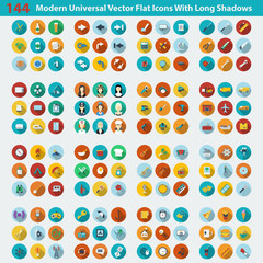 Modern flat icons vector collection. Vector illustration
