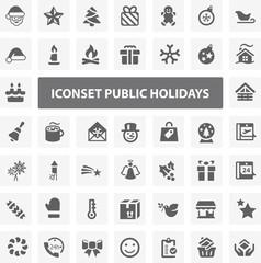 Website Iconset - Public Holidays 44 Basic Icons