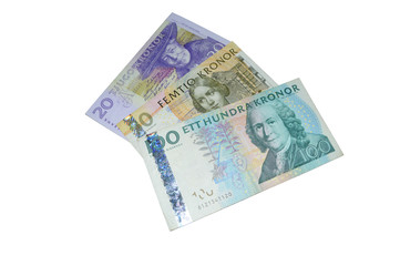 sek  Swedish crowns banknotes