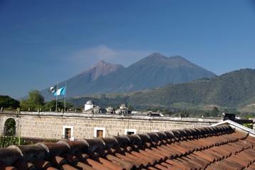 Paysage au Guatemala