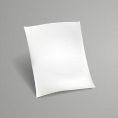 white sheet of paper