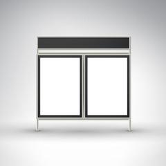 blank office billboards