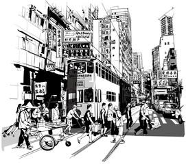 Canvas Prints Art Studio Street in Hong Kong