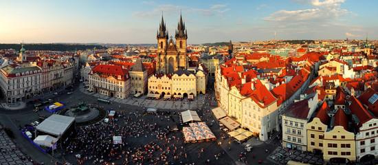 Wall Murals Prague Prague square - Panorama of Old Town