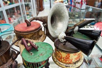 Antiquities museum exhibits