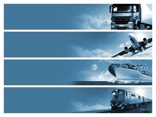 Obraz Logistics background - fototapety do salonu