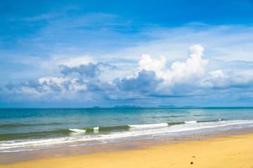 On a Beach Divine Coastline