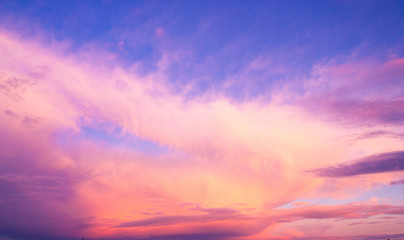 Burning Skies Fiery Backdrop