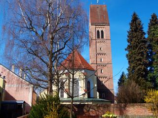 Bayern - Stadtpfarrkirche St. Justina Bad Wörishofen
