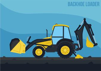 Mining Machinery_Backhoe loader