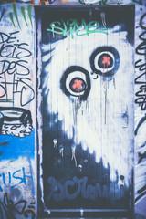 Graffiti personnage fantome