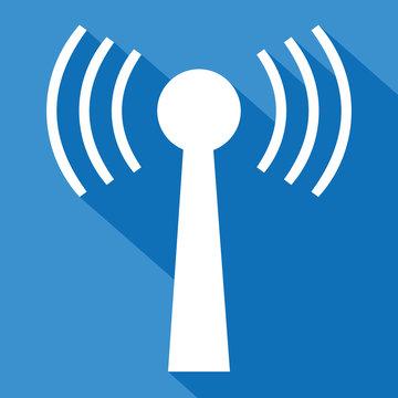 Logo antenne wifi.
